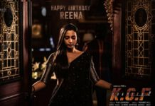 Srinidhi Shetty look from KGF Chapter 2: Can Love and Brutality Coexist?