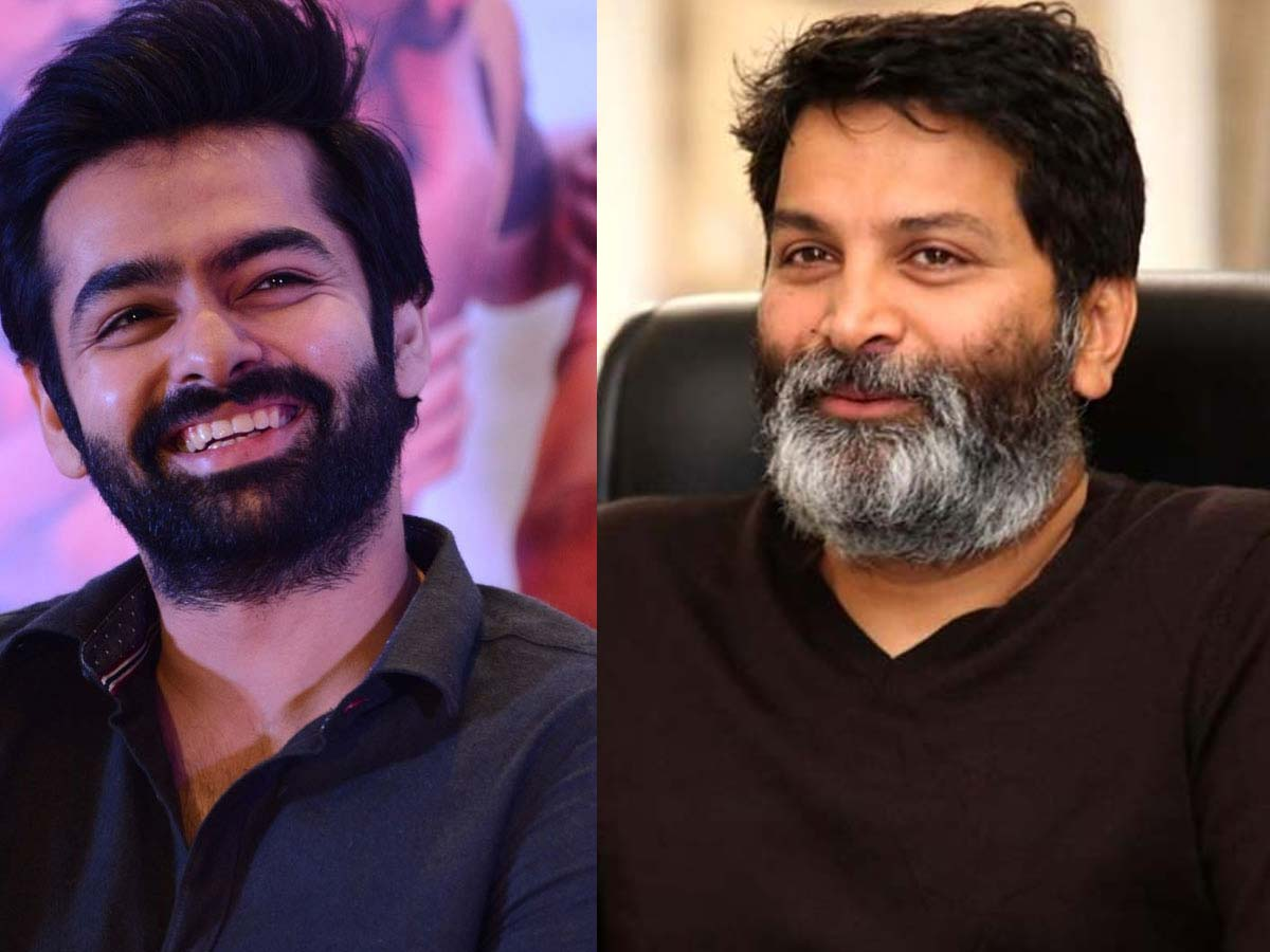 Trivikram planning a quicky with Pothineni with Rs 40 Cr budget filmRam