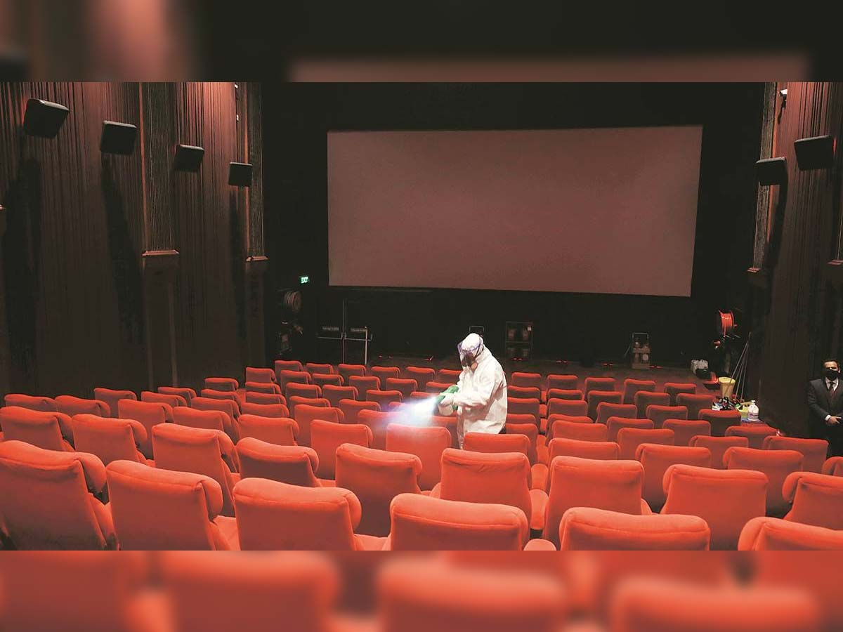 Very poor response all over for the theaters re-opening