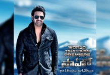 Zee Telugu to kickstartDussehracelebrations with the Telugu World Television Premiere of 'Saaho'