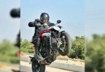 Ajith bike stunt pic going viral