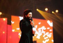Allu Arjun steals the show with his naughty act