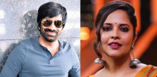 Anasuya to act opposite Ravi Teja