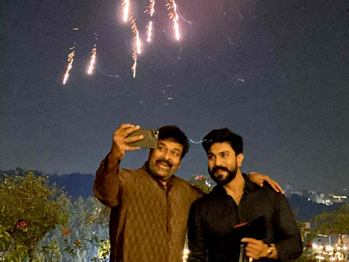 Chiranjeevi special night with his Knight