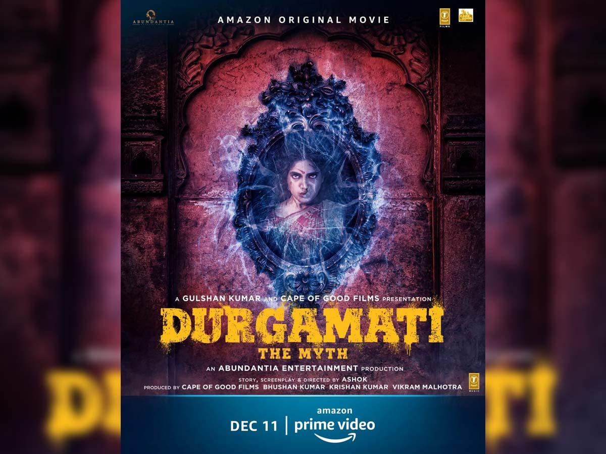 First Look:Bhaagamathie is now Durgamati