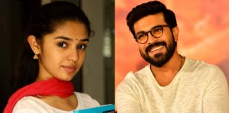 Krithi Shetty A huge fan of Ram Charan