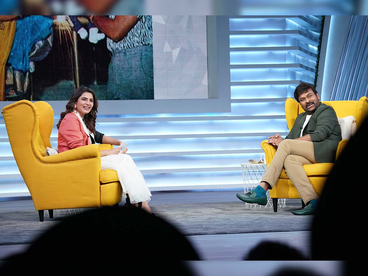 Chiranjeevi to grace Samantha Sam Jam