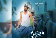 Naga Chaitanya in lungi and baniyan