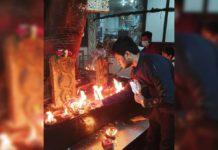 Nikhil Siddhartha lights 365 Lamps