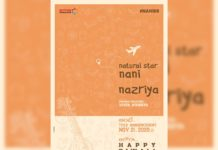 Official: Nazriya Fahadh in Nani and Vivek Athreya film