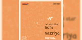 Official: Nazriya Fahadh in Nani and Vivek Athreya film