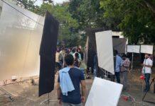 Paagal Vishwak Sen back on the sets