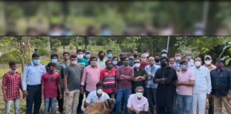 Rajamouli and RRR team participate in Green India Challenge