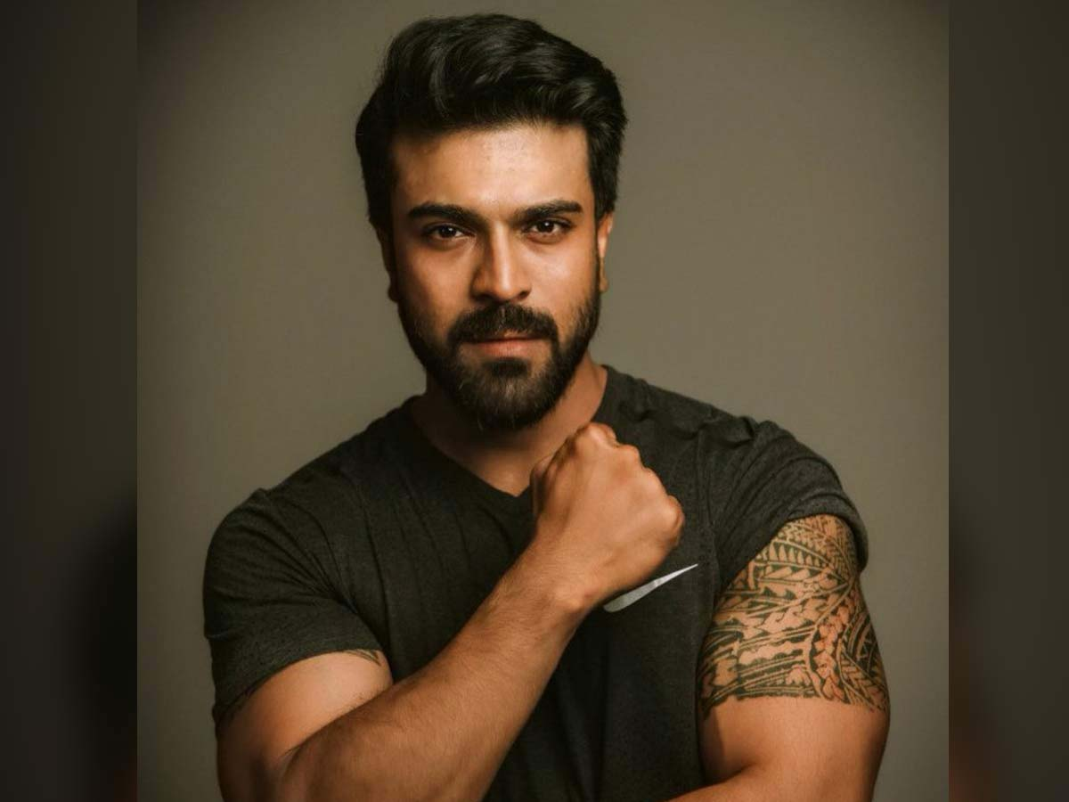 Ram Charan in Dravidian city for his Mother in law