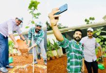 Ram Charan participates in Green India Challenge, nominates Rajamouli and Alia Bhatt