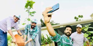 Ram Charan participates in Green India Challenge, nominates Rajamouli and Alia Bhatt