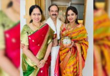 Rangasthalam actress shifts into a new house