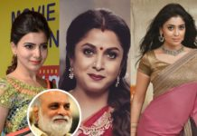 Samantha, Ramya Krishnan and Shriya Saran in K Raghavendra Rao film