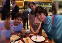 Super Cute Gang- Mahesh Babu, Gautam and Sitara on dinner date