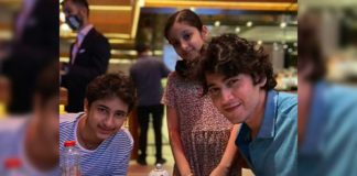 Super Cute Gang- Mahesh Babu, Gautam and Sitara on dinner date