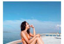 Rakul Preet Singh bikini moment captured by her daddy