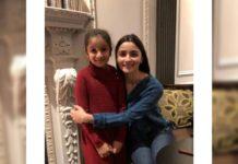 Alia Bhatt gifted acute dress to Mahesh Babu daughterSitara