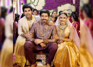 Allu Sirish Vibrant looks at Nischay Wedding