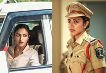 Amala Paul in stylish cop getup