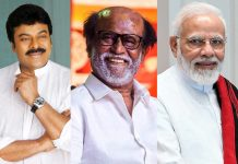 Chiranjeevi and PM Modi birthday wishes to Rajinikanth