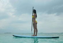 Disha Patani shows off bikini curves