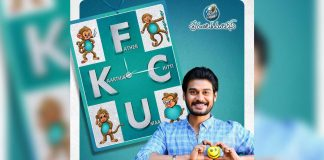 FCUK New poster: Karthik Look out