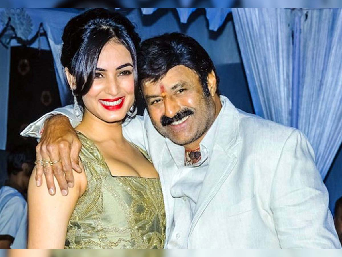 It was Sonal again who was approached for Balayya's film?