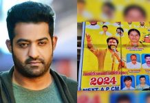 Jr NTR next CM of Andhra Pradesh: Flex viral