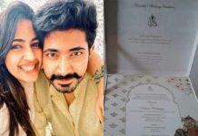Wedding card of Niharika goes Viral