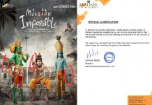 Mishan Impossible team withdraws controversial poster