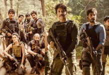 Nagarjuna helping Solomon, scissoring unwanted clips from Wild Dog