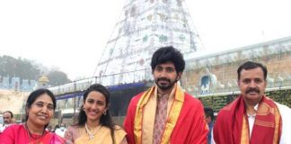 Niharika and Chaitanya seek Lord Venkateshwara blessings