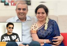 Nithiin throws a party at a star hotel for Singer Sunitha and Ram