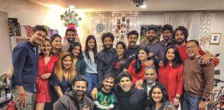 Ram Charan and Allu Arjun celebrate Christmas