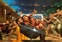Ram Pothineni and Hebah Patel Dinchak pose
