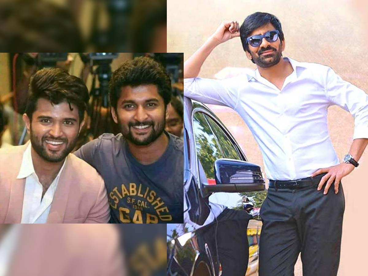 After Vijay Deverakonda and Nani, now his eyes on Ravi Teja