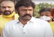 Balakrishna pays tribute to his father NTR