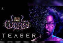 Chiyaan Vikram Cobra teaser out