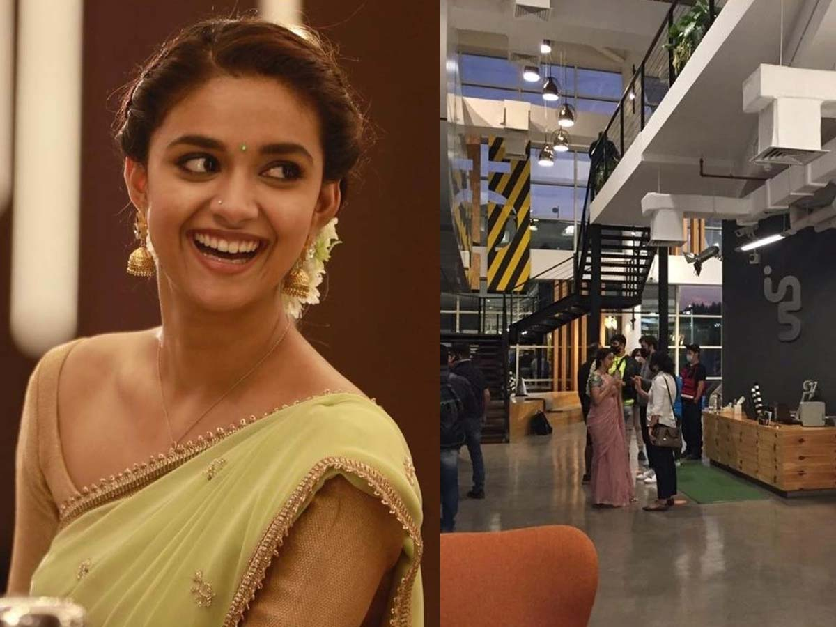 First Leak from Sarkaru Vaari Paata: Keerthy Suresh Look