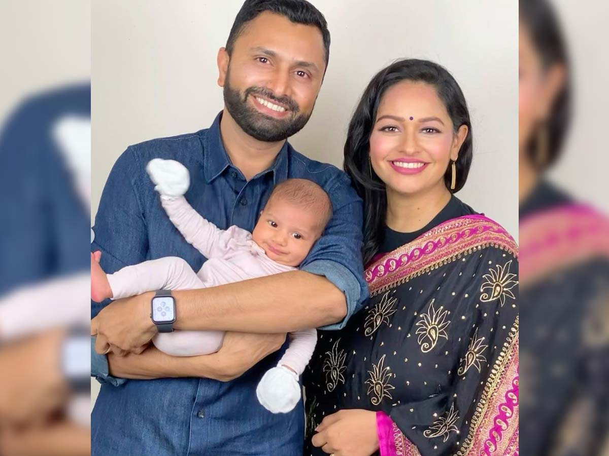 Garuda Vega lady Pooja Kumar delivers Baby girl