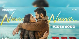 Intimate moment in Red ! Lip lock between Ram Pothineni and Malvika Sharma