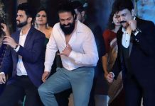 KGF star Yash shakes a leg with others @ Niharika Wedding reception