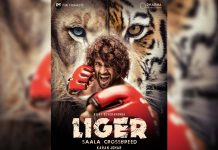 Liger First Look: Crossbreed Vijay Deverakonda a kick boxer