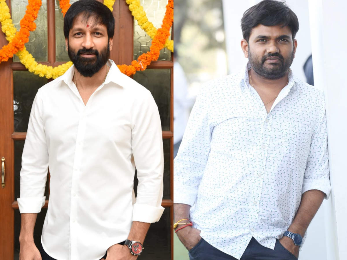 Official: Gopichand film with Maruthi