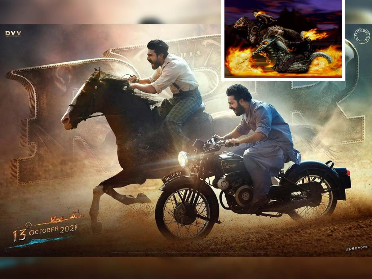 Plagiarism allegations on SS Rajamouli's RRR new poster